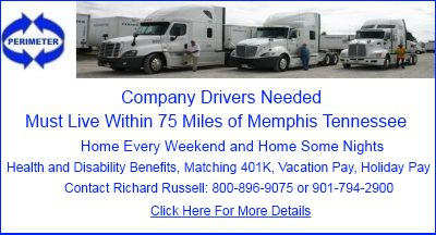 Perimeter Transportation Truck Drivers Needed